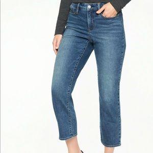 Athleta | Sculptek Slim Straight Jean in Lapis